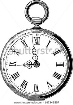 Alice In Wonderland Pocket Watch Clipart Google Search Alice In