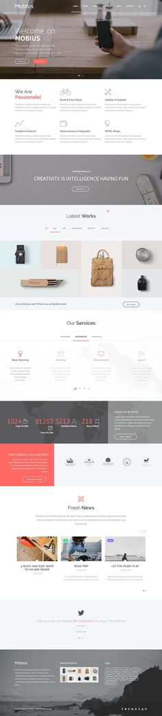Mobius - Responsive Multi-Purpose WordPress Theme on Themeforest: