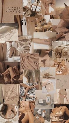 Beige Collage Aesthetic Wallpapers - Wallpaper Cave in 2021 | Aesthetic desktop wallpaper, Iphone wallpaper themes, Beige aesthetic