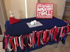 Vintage Baseball Baby Shower Party Ideas | Photo 6 of 14 | Catch My Party