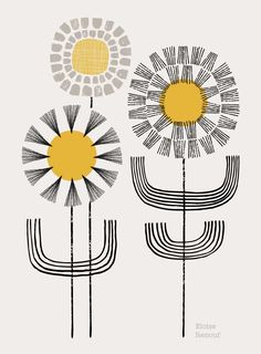 Ray Of Sunshine, open edition giclee print by EloiseRenouf on Etsy