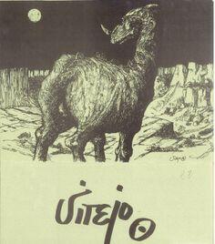 Exposición del artista conquense Vitejo en la Sala Jamete Cuenca Febrero/Marzo 1979 #SalaJamete #Cuenca #Vitejo