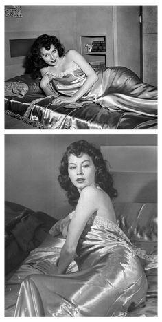 Ava Gardner.