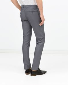 Image 3 of SUIT TROUSERS from Zara