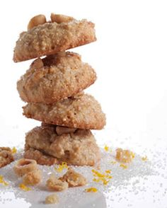 """Rocher may mean """"rock"""" in French, but with crisp outsides that yield to soft, chewy centers, these cookies hardly resemble their namesake. The batter must be refrigerated overnight so that it is firm and thoroughly chilled before baking."""