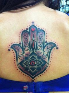 Hamsa done at the Jersey Devil in South Jersey by Nick Richard.