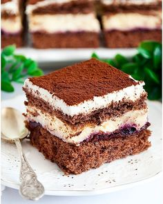 Rafaello na krakersach - I Love Bake Cake Bars, Calzone, Fancy Cakes, Tiramisu, Cooking Recipes, Cooking Ideas, Food Ideas, Oreo, Cheesecake