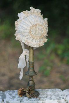 Lace bonnet
