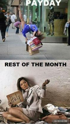 Pay day vs Rest of the month