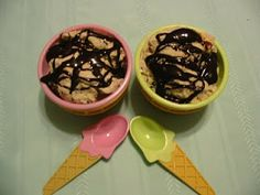 It isn't about the ice cream this time but what is topping it -- organic and dark.