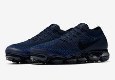 The Nike VaporMax Collegiate Navy (Style Code: 849558-400) will release on June 1st, 2017 as part of the VaporMax Day to Night Collection. Details here: