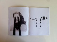 22 page zine of my black and white illustrations and some collages.  a5 size