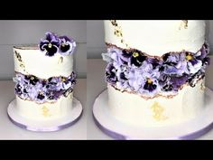 Cake decorating tutorials | FAULT LINE CAKE | Sugarella Sweets - YouTube