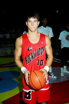 Pin for Later: A Marky Mark Tribute That Guarantees Good Vibrations Marky Mark also got involved in lots of MTV Rock N' Jock basketball games.