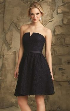 Affairs by Mori Lee Bridesmaid Dress Style 31067 Navy Lace Bridesmaid Dress, Mori Lee Bridesmaid Dresses, Knee Length Bridesmaid Dresses, Designer Bridesmaid Dresses, Bridesmaid Dresses Online, Bridesmaids, Bridesmaid Ideas, Ball Dresses, Prom Dresses