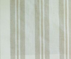 Linen Beige Stripes Fabric Vintage By The Yard Curtain Fabric Upholstery Fabric Curtain Panel Drapery Fabric Window Treatment Jacquard Weave from FabricMart on Etsy Studio