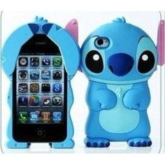 Amazon.com: 3D Stitch Hard Case for iPhone 4\ 4s + 1 Screen Protector Film: Everything Else