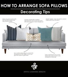 How to mix pillows for your living room sofa. Choose a neutral with a m… : How to mix pillows for your living room sofa. Choose a… Living Room pillows Living Room Sofa, Living Room Decor, Dining Room, Suede Sofa, Rustic Home Interiors, Sofa Pillows, Throw Pillows, Home Decor, Happy Vibes