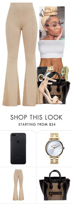 Untitled #2299 by txoni on Polyvore featuring Charlotte Russe, CÉLINE and Nixon