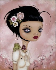 The elegance, strengths and vulnerabilities of femininity in awesome paintings from Caia Koopman - ego-alterego.com