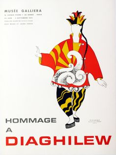 Hommage a Diaghilew at Musee Galliera by Artist Unknown