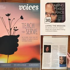#RaisingMixedRace featured in Pacific Oaks College 70th anniversary VOICES magazine (May 2016)