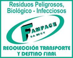 FAMPACE S.A. DE C.V. - TRATAMIENTO DE RESIDUOS PELIGROSOS - www.fampace.mpw.mx