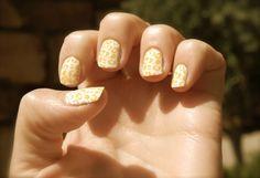 cheetah print nails-one of my fave nail stamp mani's!