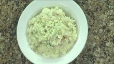 Mashed Potatoes With Bacon & Blue Cheese Friday, April 10, 2015