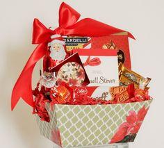Festive Holiday Snack Gift Basket Holiday Snacks, Business Profile, Novelty Items, Holiday Festival, Gift Baskets, Floral Arrangements, Party Favors, Festive, Custom Design