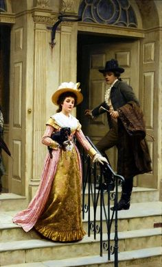 Edmund Blair Leighton art