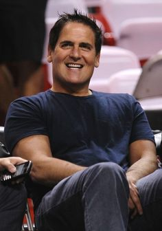 American business mogul and Dallas Mavericks owner Mark Cuban. The billionaire and star of ...