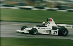Roelof Wunderink (NED) (HB Bewaking Team Ensign), Ensign N175 - Ford-Cosworth DFV 3.0 V8 (DNQ)  1975 British Grand Prix, Silverstone Circuit