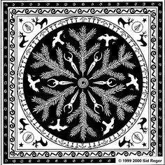 Goddess Mandalas: Winter Solstice