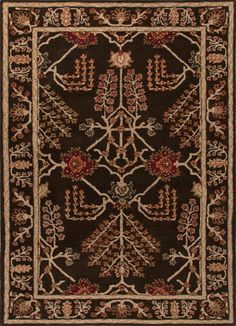 Wool Material carpet in Dark Gray color
