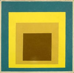 Homage to the Square, Josef Albers
