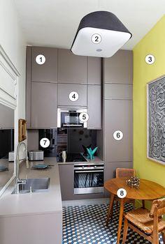 Кухня площадью 5 кв.м: 10 дизайнерских ремарок   http://oselya.net/content/kuhnya-ploshchadyu-5-kvm-10-dizaynerskih-remarok