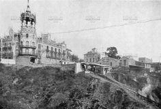 La Rotonda y calle Balmes en 1920