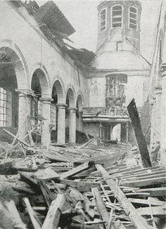 Oostakker tijdens de Eerste Wereldoorlog.