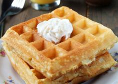 Gateaux minceur WW light and crispy waffles, a recipe for tasty Mardi-gras waffles to be served hot, Ww Recipes, Snack Recipes, Dessert Recipes, Snacks, Thermomix Desserts, Ww Desserts, Superfood, Crispy Waffle, Weigh Watchers