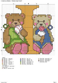 alfabeto degli orsetti : I