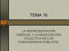 TEMA 16 LA REPRESENTACIÓN SINDICAL Y LA NEGOCIACIÓN COLECTIVA DE LOS FUNCIONARIOS PÚBLICOS.> Videos, Tech Companies, Company Logo, Logos, Collective Bargaining, Law, Logo