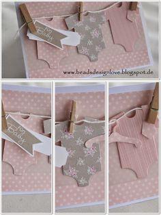 beadsdesign ♥♥♥♥ love: Babykarte