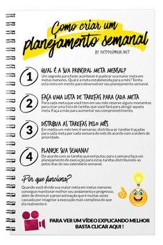 how to plan weekly Social Marketing, Digital Marketing, Agenda Planner, Planning, Study Motivation, Life Organization, Study Tips, Self Development, Self Improvement