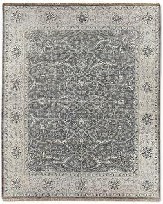 Restoration Hardware gray rug