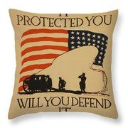 World War I Poster Throw Pillow Accent Pillows, Throw Pillows, Canvas Art, Canvas Prints, Got Print, Hanging Wire, World War I, Canvas Material, Fine Art America
