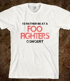 foo fighters t-shirt $25