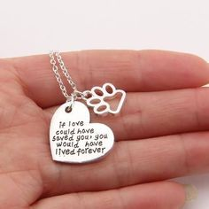 This necklace goes out to any fur momma who has lost their dog! Keep your beloved pet close to your heart with this pet memorial necklace. Jewelry Tags, Dog Jewelry, Jewlery, Fine Jewelry, Modern Jewelry, Jewelry Making, Dog Christmas Gifts, Dog Necklace, Choker Necklaces