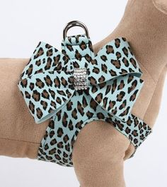 Cheetah Couture Nouveau Bow Step-in Harness