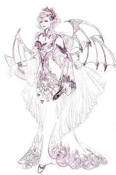 character--chimera by jiuge.deviantart.com on @deviantART